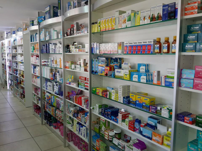 Fabricaci n de exhibidores para farmacias - Estanterias para perfumerias ...